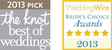 leah jean photography awarded the knot best weddings and wedding wire brides choice 2013